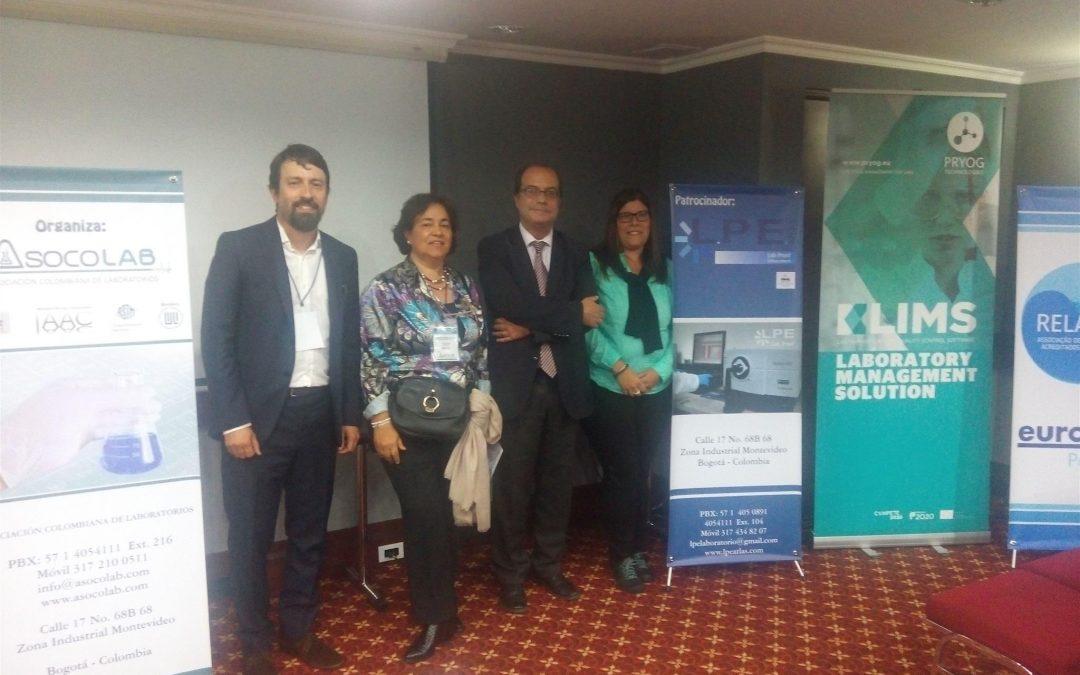 Participação no Congresso da Associação Colombiana de Laboratórios